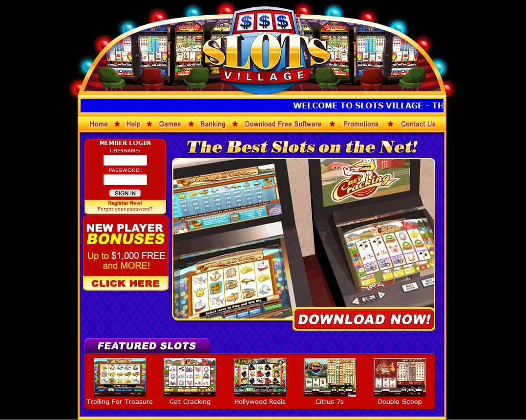 Slots Village Casino Online Review With Promotions & Bonuses
