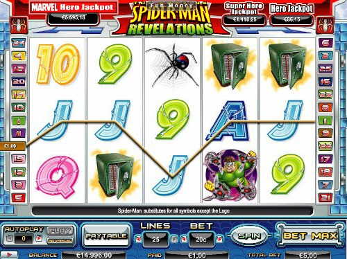 Win7Casino Spiderman