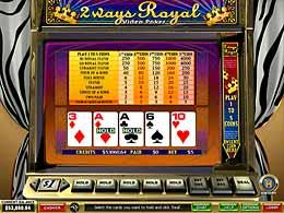 Play 2 Ways Royal Video Poker At Omni Casino Casino