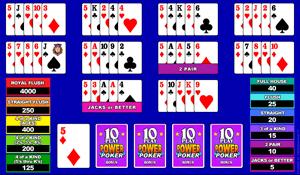 Microgaming Bonus Poker 4-Hands Video Poker