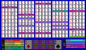 Microgaming Bonus Poker 50-Hands Video Poker