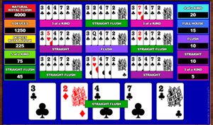 Microgaming Deuces Wild 10-Hands Video Poker