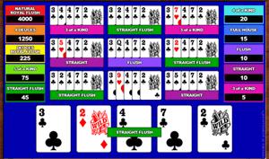 Microgaming Deuces Wild 10-Hands Video Poker