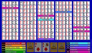 Microgaming Deuces Wild 50-Hands Video Poker