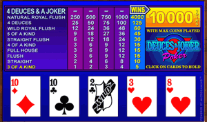 Microgaming Deuces & Joker Video Poker