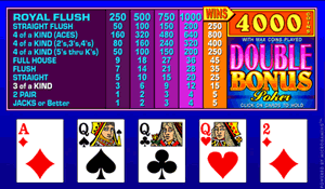 Play Double Bonus Poker At Omni Casino Casino