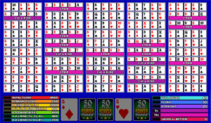 Microgaming Double Double Bonus 50-Hands Video Poker