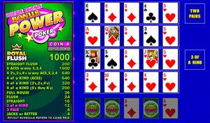 Microgaming Double Double Bonus 4-Hands Video Poker