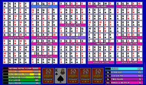 Microgaming Joker Poker 50-Hands Video Poker