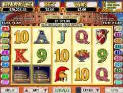 Caesar's Empire Slot Machine