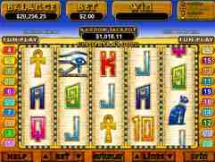 Cleopatra's Gold Slot Machine