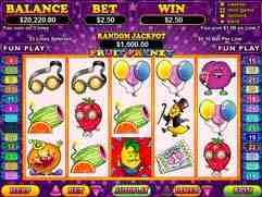 Fruit Frenzy Slot Machine