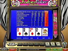 Play 50 Line Joker Poker at Casino.com Canada