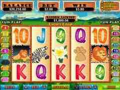 Lion's Lair Slot Machine