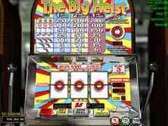 The Big Heist Slot Machine
