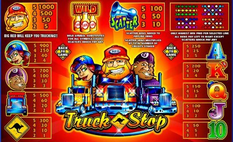 Truck Stop Slot Machine
